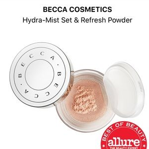 🍉NEW! Becca Hydra-mist set & refresh face powder